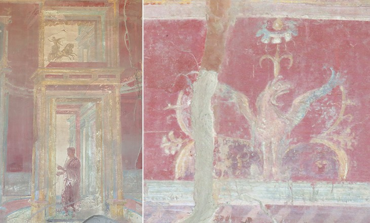 Pompeii In A Nutshell Paintings